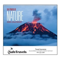 61-893 The Power Of Nature Wall Calendar
