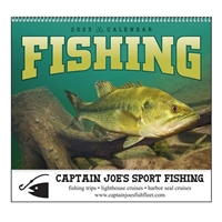 61-899 Fishing Wall Calendar
