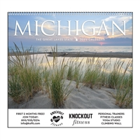 61-MI Michigan Wall Calendar