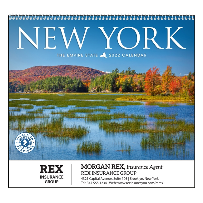 61-NY New York Wall Calendar