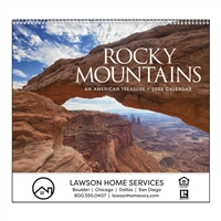 61-RM Rocky Mountains Wall Calendar