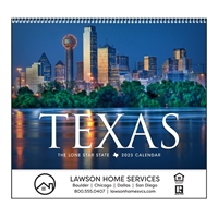 61-TX Texas Wall Calendar