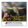 65-835 Backyard Birds Wall Calendar
