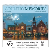 74-117 Country Memories Wall Calendar