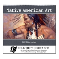 74-104 Native American Art Wall Calendar