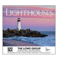 74-70 Lighthouses Wall Calendar