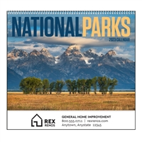 74-76 National Parks Wall Calendar