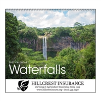 74-79 Waterfalls Wall Calendar
