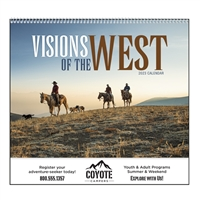 74-902 Visions of the West Wall Calendar