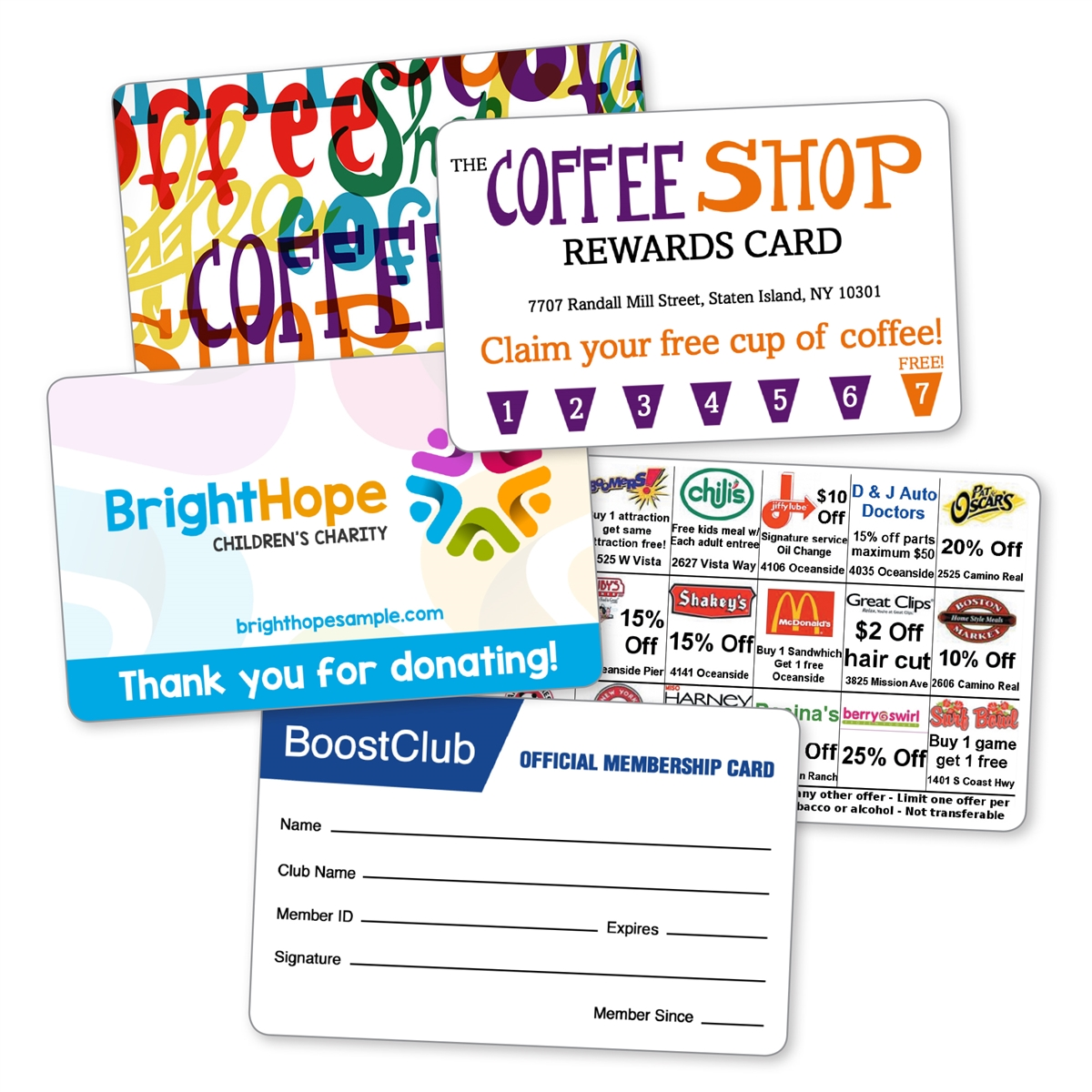 75-40 Laminated Business Card (sets of 500)