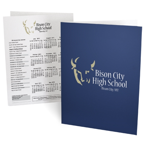80-CP3 Classic Printed Folder / 3-Color Ink