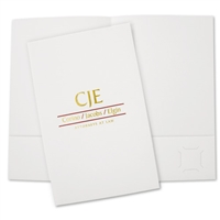 80-DLF2 Designer Legal Foil Folder / 2-Color Foil