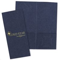 80-DM1 Designer Mini Folder / 1-Color Foil