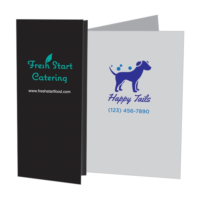 80-DM2 Designer Mini Folder / 2-Color Foil