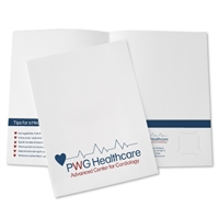 80-DP2 Designer Printed Folder / 2-Color Ink