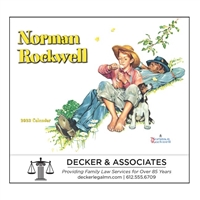81-802 Norman Rockwell's Wonderful World Wall Calendar
