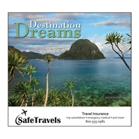 81-804 Destination Dreams Wall Calendar