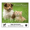 81-810 Four Paws Wall Calendar