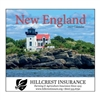 81-812 New England Wall Calendar