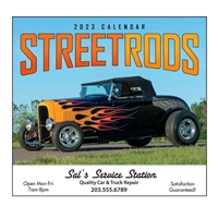 81-824 Street Rod Fever Wall Calendar