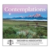 81-825 Contemplations Wall Calendar