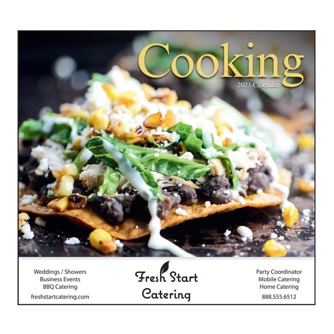 81-827 A Taste for Cooking Wall Calendar