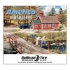 81-829 America Remembered Wall Calendar