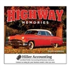 81-832 Highway Memories Wall Calendar