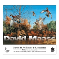 81-833 David Maass Wall Calendar