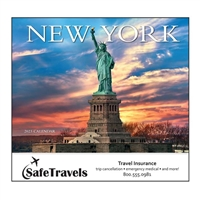 81-838 New York Wall Calendar