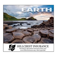 81-872 Earth Wall Calendar