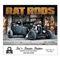 81-881 Rat Rods Wall Calendar