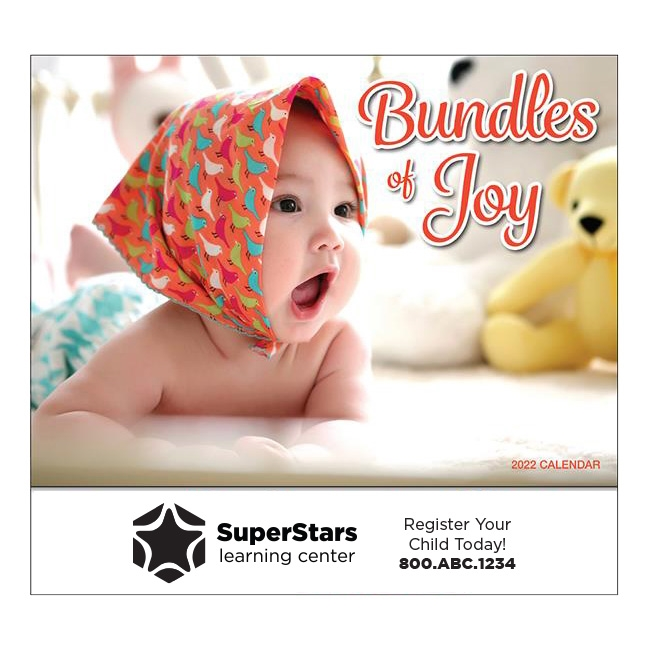 81-887 Bundles of Joy Wall Calendar