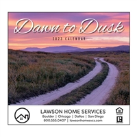 81-888 Dawn to Dusk Wall Calendar