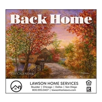 81-891 Back Home Wall Calendar