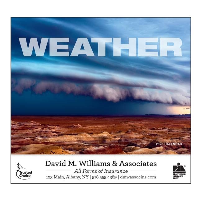 81-895 Weather Almanac Wall Calendar
