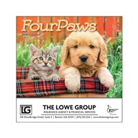 81-944 Four Paws Mini Calendar
