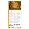 81-970 Country Road Calendar Greeting Card