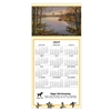 81-971 Evening Flight - Wood Duck Calendar Greeting Card
