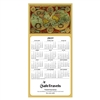 81-973 Around the World Calendar Greeting Card
