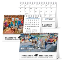 81-986 America Remembered Desk Calendar Tent