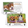 81-987 Four Paws Desk Calendar Tent