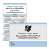 R59-11 Pocket Size Business/Calendar Card (sets of 250)
