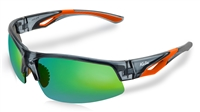 Kele ISO Crystal Gray Orange w HD Golf Lens