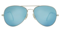 NYX Golf Eyewear Osprey Blue Mirror handcrafted metal Aviator made in Italy