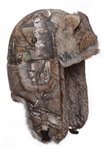 Lil' Realtree camo with Brown Rabbit Fur  - children sizes