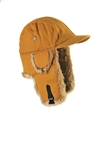 L & XL only - Brown Canvas w/ Brown Fur