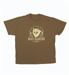 100% Cotton Mad Wolf Mad Bomber T-Shirt