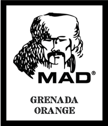 """Grenada Orange"" captures the scent of a sun-kissed man on holiday in the Island of Spice. Granada Orange brought to you by the Mad Bomber. 