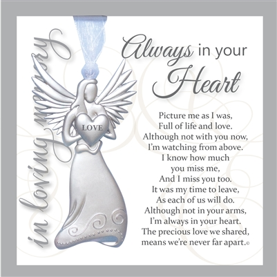 Always in Your Heart Sympathy Gift